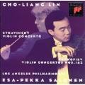 Stravinsky, Prokofiev: Violin Concertos / Lin, Salonen