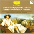 Schubert: Symphony No.8; Mendelssohn: Symphony No.4