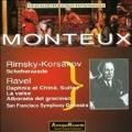 Monteux conducts Ravel & Rimsky-Korsakov