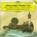Albinoni: Adagio, Pachelbel: Canon, J.S.Bach: Jesu, Joy of Man's Desiring, etc (4/1989) / Orpheus Chamber Orchestra, etc