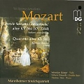 Mozart: Grande Sestetto Concertante after KV.364, Quartetto after KV.581 / Mannheim String Quartet