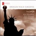 American Violin Concertos - T.Wiprud, Barber, G.C.Menotti