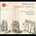 John Blow: Symphony Anthems