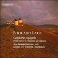 Lalo: Violin Concerto Op.20, Fantasie Novergienne, Symphonie Espagnole Op.21 / Jean-Jacques Kantorow, Kees Bakels, Granada City Orchestra