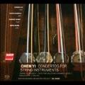 陳怡: 弦楽器のための協奏曲集