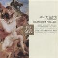 Rameau: Castor et Pollux (1972) / Nikolaus Harnoncourt(cond), Concentus Musicus Wien, Stockholm Chamber Choir, Gerard Souzay(Br), Zeger Vandersteene(T), Jeanette Scovotti(S), etc