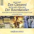 Mozart: Don Giovanni;  R. Strauss: Der Rosenkavalier
