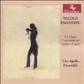 Paganini: Tre Duetti Concertanti per Violino e Fagatto