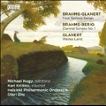 Brahms-Glanert: Four Serious Songs; Brahms-Berio: Clarinet Sonata No.1; Glanert: Weites Land