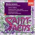 Saint-Saens: Symphonie No 3, Violinkonzert No 3 / Jansons