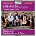 Fano: Piano Quintet, String Quartet / Torino String Quartet