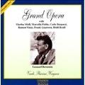 Grand Opera -Verdi :Otello, Wagner: Tristan & Isolde, etc (1955, 1958) / Leonard Bernstein(cond), Metropolitan Opera Orchestra & Chorus, etc