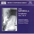 Kinsella: Symphonies nos 3 & 4 / O Duinn, NSO of Ireland