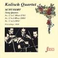 Strings - Schubert: Quartets no 12, 13 & 15 /Kolisch Quartet