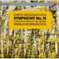 Shostakovich: Symphony no 15 / Rostropovich, London SO