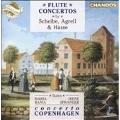 Flute Concertos by Scheibe, Agrelli, Hasse / Bania, Spranger