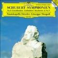 "Schubert: Symphony No.8 ""Unfinished"", No.9 ""Great"" / Giuseppe Sinopoli(cond), Staatskapelle Dresden"