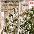 Handel, Dittersdorf, Francaix: Harfenkonzerte / Zoff, Roegner