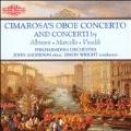 Cimarosa :Oboe Concerto/Albinoni :Oboe Concerto Op.7-3/Marcello:Oboe Concerto/etc (1/5-6/1989):John Anderson(ob)/Simon Wright(cond)/Philharmonia Orchestra