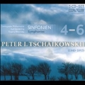Tchaikovsky: Symphonies No.4 Op.36, No.5 Op.64, No.6 Op.74 ''Pathetique'' / Kurt Sanderling, Evgeny Mravinsky, Leningrad Philharmonic Orchestra