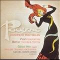 Poulenc: Concerto for Organ;  Petit, Barber / Weir, et al