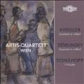 Kreisler, Zemlinsky, Schulhoff - Streichquartett