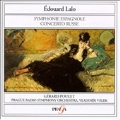Lalo: Symphonie Espagnole, Concerto Russe / Poulet, Valek