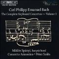 C.P.E. Bach: Complete Keyboard Concertos Vol 1 / Spanyi