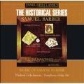 Historical - Barber: 2nd Essay, etc / Golschmann, et al