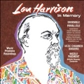 Lou Harrison -In Memory :In Memory of Victor Jowers, Mass for Saint Celia's Day, etc / Nicole Paiement(cond), Parallele Ensemble, etc