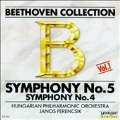 Beethoven Collection Vol 1- Symphony no 4 & 5 / Ferencsik