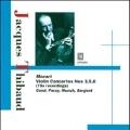 Mozart: Violin Concerto No.3 K.216, No.5 K.219, No.6 K.268