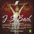 J.S.Bach: St Matthew Passion BWV.244, St John Passion BWV.245, Mass in B minor BWV.232