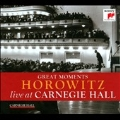 Great Moments of Vladimir Horowitz Live at Carnegie Hall<完全生産限定盤>