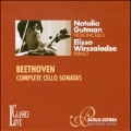 Beethoven: Complete Cello Sonatas No.1-5 (4/4/1992) / Natalia Gutman(vc), Elisso Wirssaladze(p)