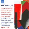Stravinsky: Duo Concertant, Sonata for 2 Pianos, Requiem Canticles, etc