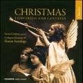 Christmas Concertos & Cantatas -Corelli, Manfredini, A.Scarlatti, Telemann, Vivaldi / Susan Gritton(S), Simon Standage(cond), Collegium Musicum 90