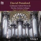 デイヴィッド・ポンスフォード/French Organ Music Vol.4 - G.G.Nivers, N.A.Lebegue[NI6292]