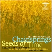 ローランド・ペンティネン/V.M.Puumala: Chainsprings, Seeds of Time[ABCD319]