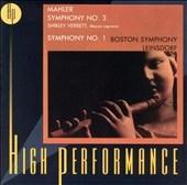 Mahler: Symphonies Nos. 1,3
