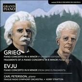 カール・ペッテション/Grieg: Piano Concerto Op.16, Fragments of a Piano Concerto; Evju: Piano Concerto in B minor, etc[GP689]