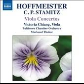 ヴィクトリア・チャン/Viola Concertos - Hoffmeister, C.P.Stamitz [8572162]