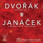 マンフレッド・ホーネック/Dvorak: Symphony No.8; Janacek: Symphonic Suite from Jenufa [FR710SACD]