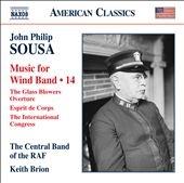 ロイヤル・エア・フォース・セントラル・バンド/Sousa: Music for Wind Band Vol.14 [8559730]