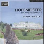 ビリアーナ・ツィンリコヴァ/F.A.Hoffmeister: Sonatas for Piano Vol.2[GP667]
