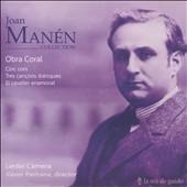 アンジャルス・バラガロ/Joan Manen Collection CD 3 - Choral Works [LMG2133]