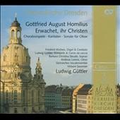 ルードヴィヒ・ギュトラー/Homilius: Erwachet, ihr Christen - Choralvorspiele, Kantaten, etc / Ludwig Guttler, Sachsisches Vocalensemble, etc [83236]