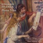 ルイス・クラレット/E.Franck: Piano Trios Op.11, Op.58  / Christiane Edinger, Lluis Claret, Klaus Hellwig[AU92567]