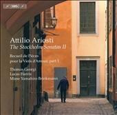 トマス・ゲオルギ/A.Ariosti :Stockholm Sonatas Vol.2 :No.8-No.14:Thomas Georgi(viola d'amore)/Lucas Harris(archlute &baroque guitar)/etc[BIS1555]