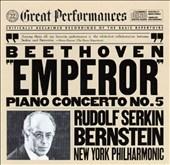 Beethoven: Piano Concerto no 5 / Serkin, Bernstein